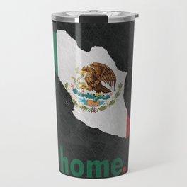 Mexico Proud Travel Mug