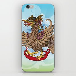 'Jatayu' or Eagle on the story of the Ramayana iPhone Skin