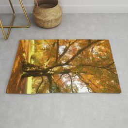 Copper Beech in Autumn Colours Rug