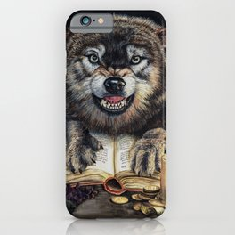 Fiction in the flesh iPhone Case