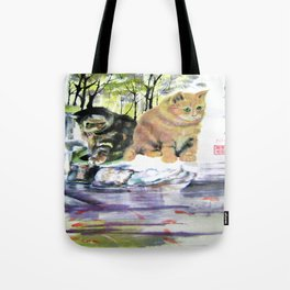 lake of desires Tote Bag