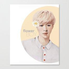 Flower Boy - Lay Canvas Print