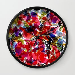 Hearts & Flowers Wall Clock