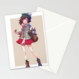RWBY Ruby Rose Stationery Cards