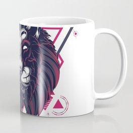 The Mythical Lion sacred geometry Coffee Mug