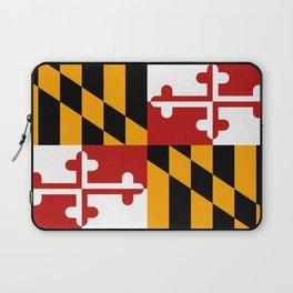Maryland flag Laptop Sleeve