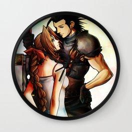 Zack and Aerith Wall Clock