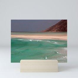 Beautiful Tropical Beach Coastline Landscape Seascape Mini Art Print