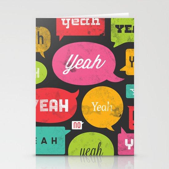 Yeah yeah yeah yeah, yeah yeah yeah yeah Stationery Cards