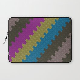 Colorful Zigzag Pattern Laptop Sleeve