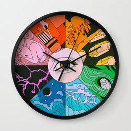 Live Your Truth Wall Clock