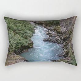 Alaska River Canyon - I Rectangular Pillow