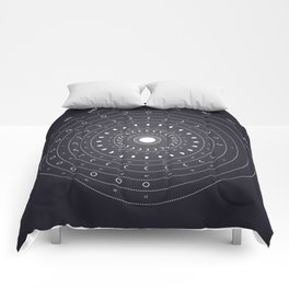 2019 Lunar Phases Calendar Comforters