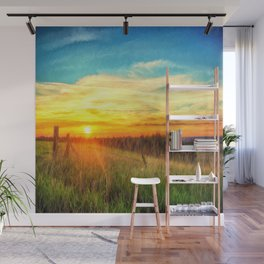 Paint Me A Sunset  Wall Mural