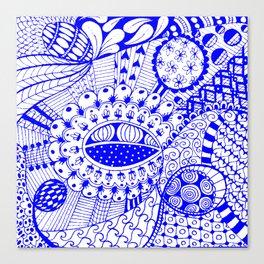 Leander Blue Canvas Print