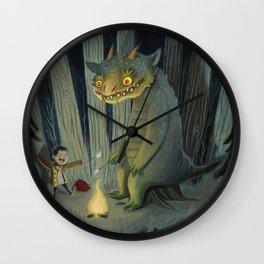 Tall Tales Wall Clock