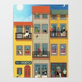 Porto Houses - Portugal Poster