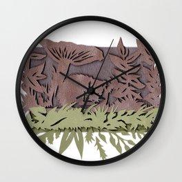 Sleeping Mouse Wall Clock