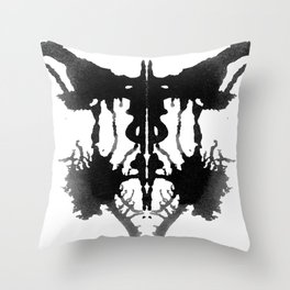 Rorschach I Throw Pillow
