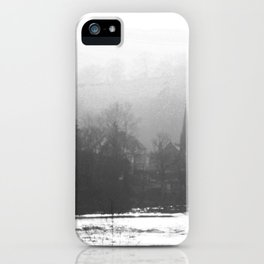 Town In The Valley iPhone Case