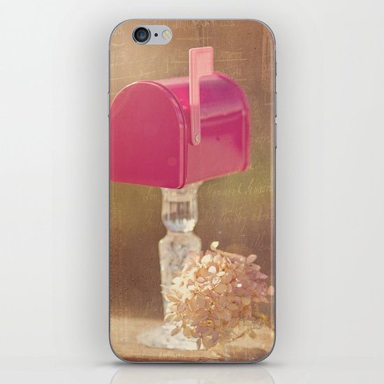 Sending out Love iPhone & iPod Skin