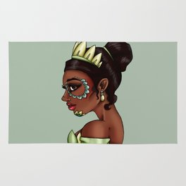 Day of the Dead Tiana - The Princess and the Frog Rug