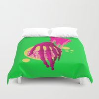 bones Duvet Covers featuring Bones by Love2Laugh
