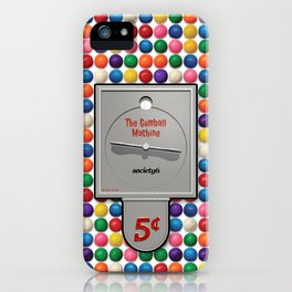 The Gumball Machine iPhone Case