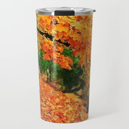 Massachusetts - Autumn Colors Travel Mug