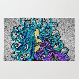 2017 Blue Mermaid Rug