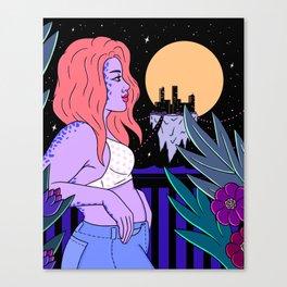 BALCONY DREAMING Canvas Print