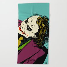 Joker So Serious Beach Towel
