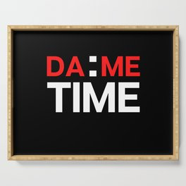 Dame Time Serving Tray