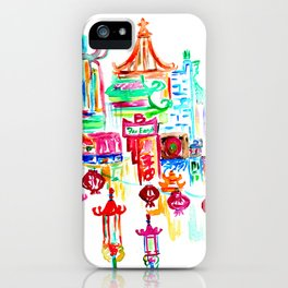 Chinatown 1 iPhone Case