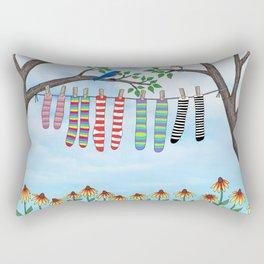 clean socks Rectangular Pillow
