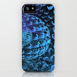 Spherical Abstract iPhone Case