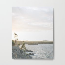 Pukaskwa National Park - Ontario, Canada | lake superior - landscape - photography - sunrise - trees Metal Print