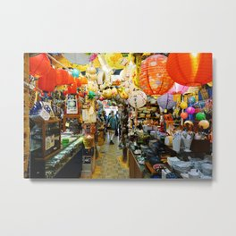 All The Things China Town Metal Print