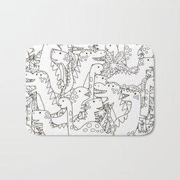 Dinosauriformes Bath Mat