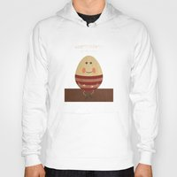 nursery Hoodies featuring Humpty Dumpty. Children's Nursery Rhyme Inspired Artwork. by Dan Howard