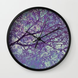 forest 2 #forest #tree Wall Clock