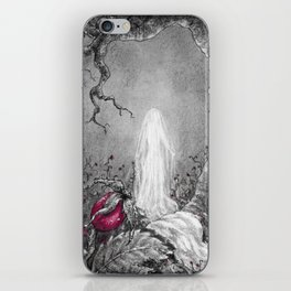 The lady of winter iPhone Skin