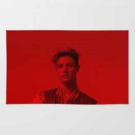 Cameron Dallas - Celebrity (Florescent Color Technique) Rug