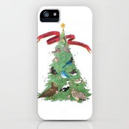 The Twelve Birds of Christmas iPhone Case