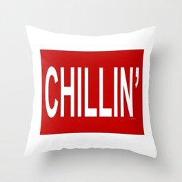 CHILLIN Good Vibes Throw Pillow