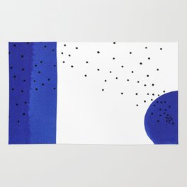 Bright blue series #2 Rug