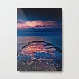 Ashbridges Bay Toronto Canada Dock At Sunrise No 1 Metal Print