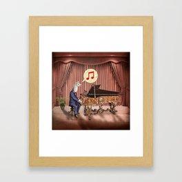 LA-LA-LA-Llama! Framed Art Print