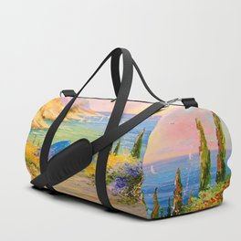 Road to the sea Duffle Bag
