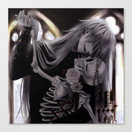 dance with death Canvas Print